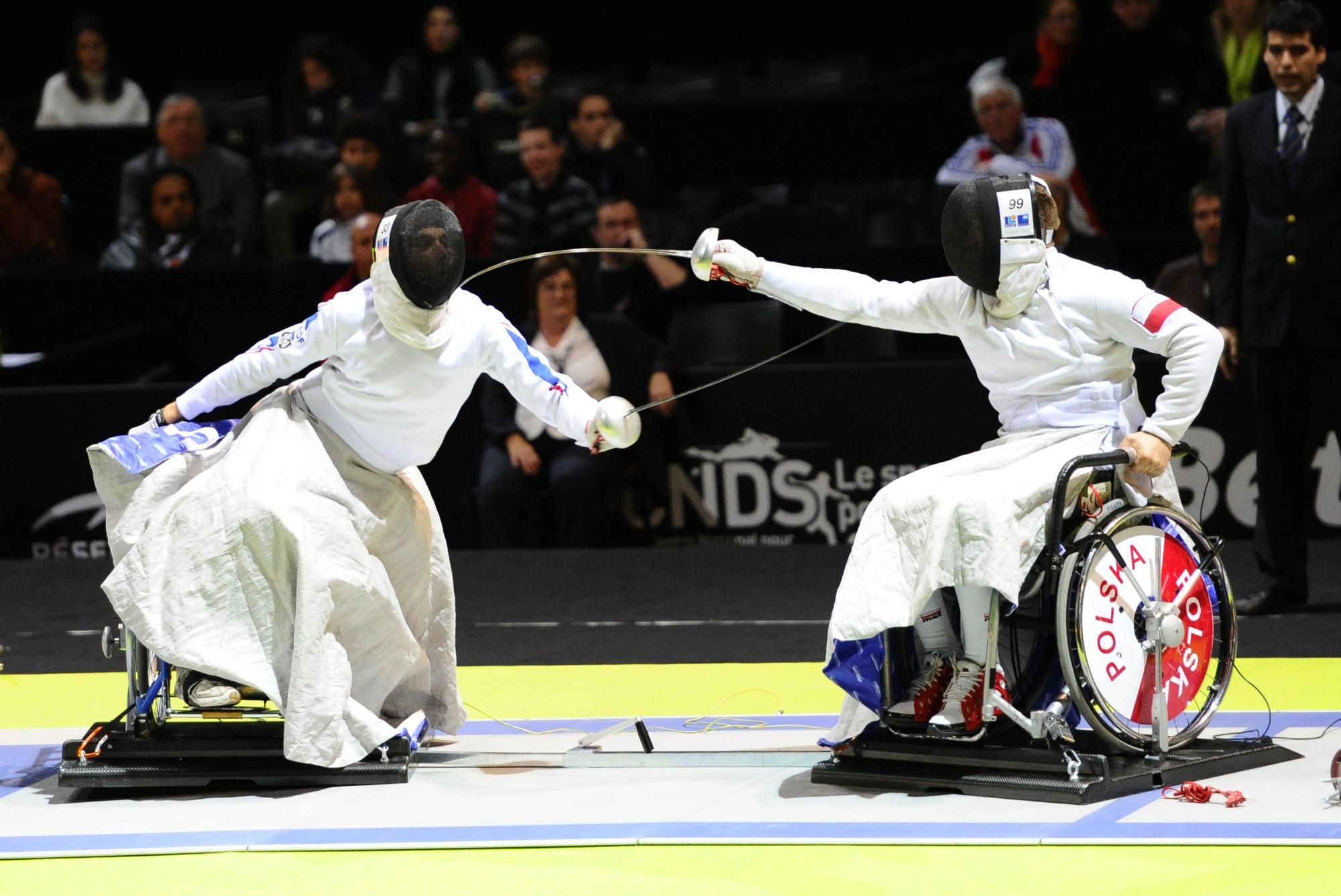 Championnat du Monde d'Escrime Handisport (Paris, FRANCE, 2010) Copyright ALAIN GADOFFRE