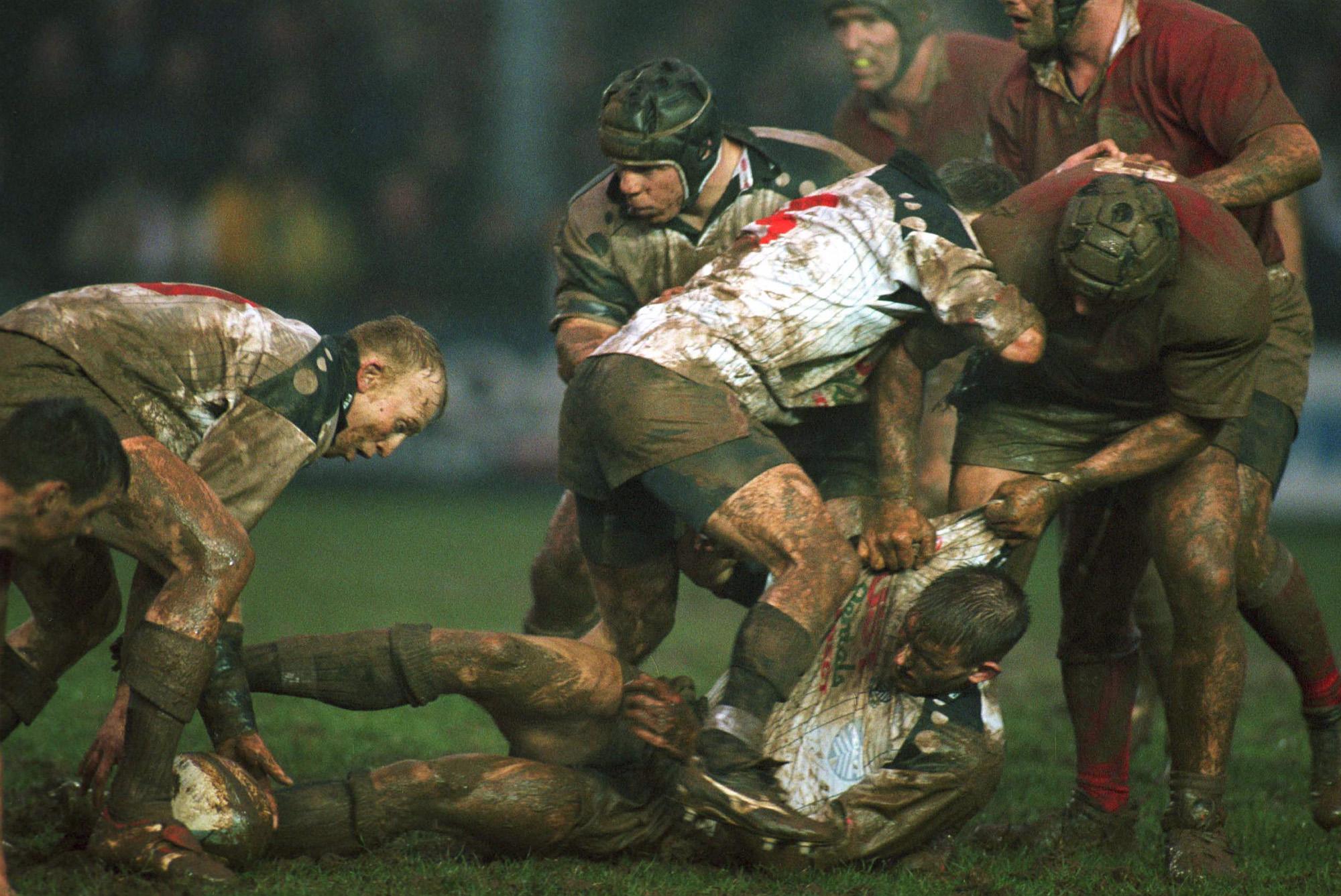Neil Jenkins (Pontypridd vs Canada, Pontypridd, PAYS DE GALLES, 1999) Copyright JEAN-MARIE HERVIO