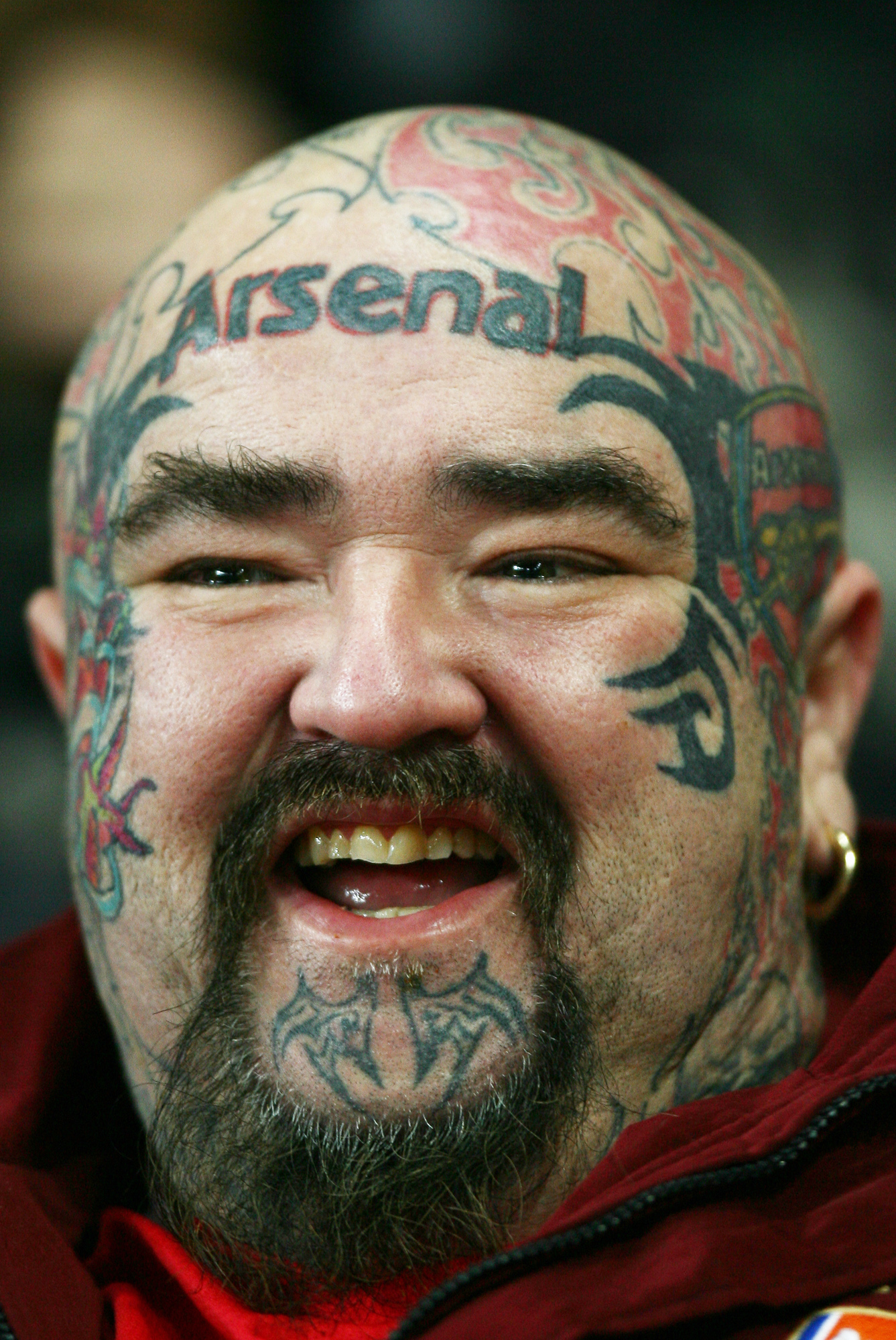 Supporter d'Arsenal (Londres, ANGLETERRE, 2006) Copyright ALAIN GADOFFRE
