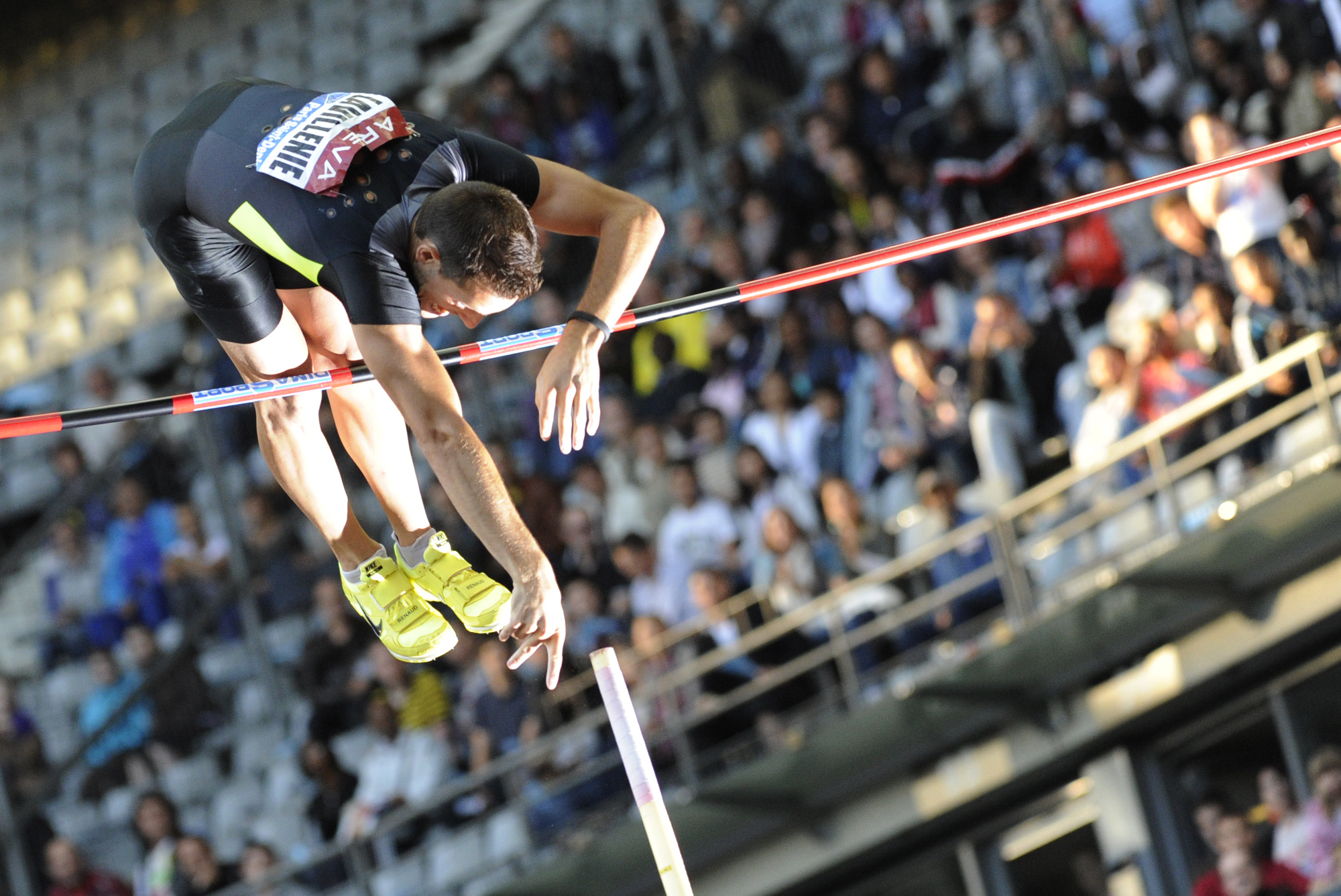 Renaud Lavillenie (Meeting Areva 2012, Saint-Denis, FRANCE) Copyright ALAIN GADOFFRE