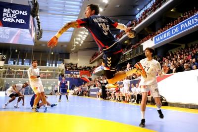 Samuel Honrubia (PSG vs Ivry, Paris, FRANCE, 2012) Copyright ALAIN GADOFFRE
