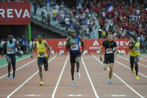 100m Meeting Areva (Paris, FRANCE, 2013) Copyright ALAIN GADOFFRE