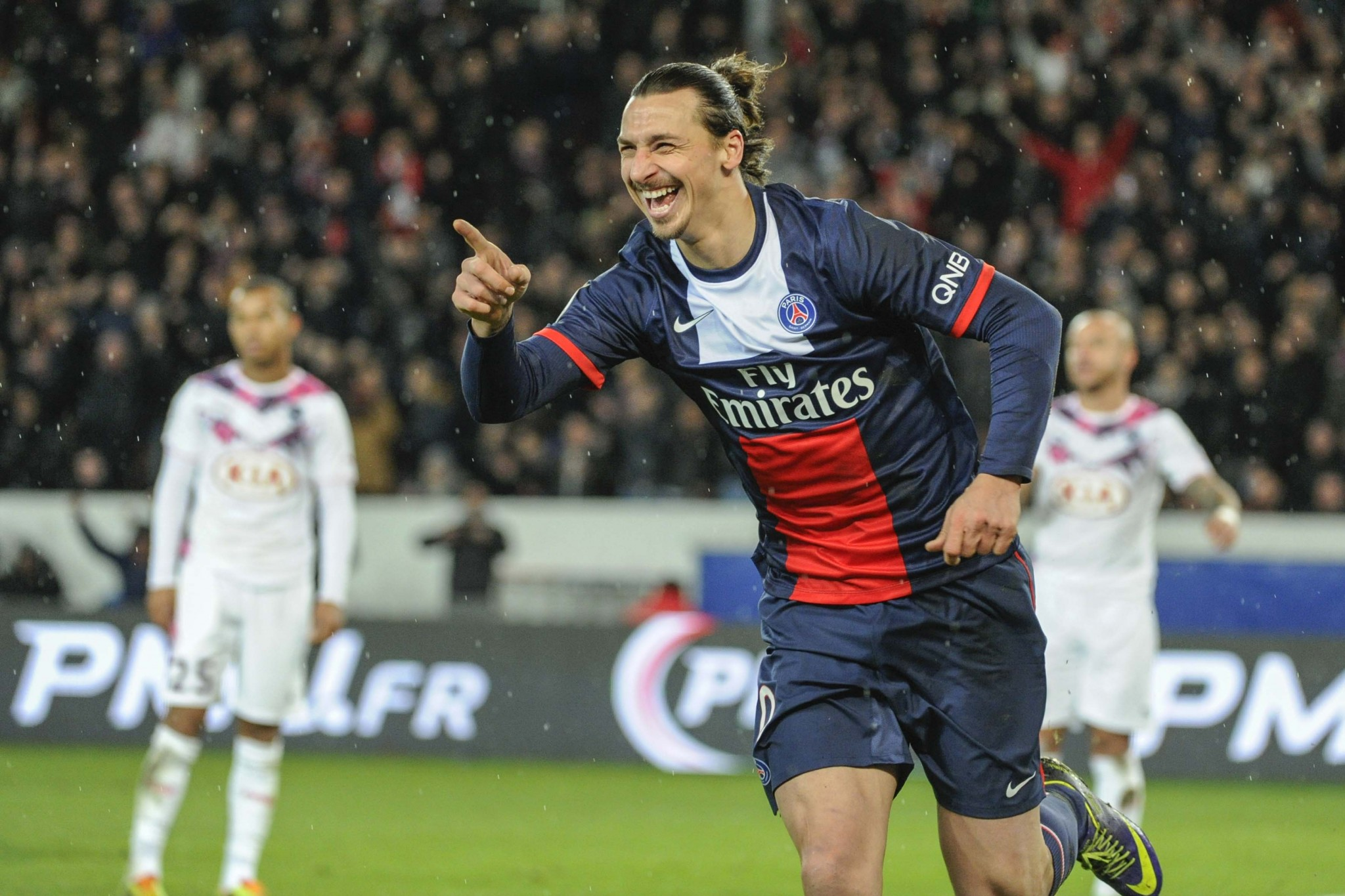 Zlatan Ibrahimovic (PSG vs Bordeaux, Paris, FRANCE, 2014) Copyright ALAIN GADOFFRE