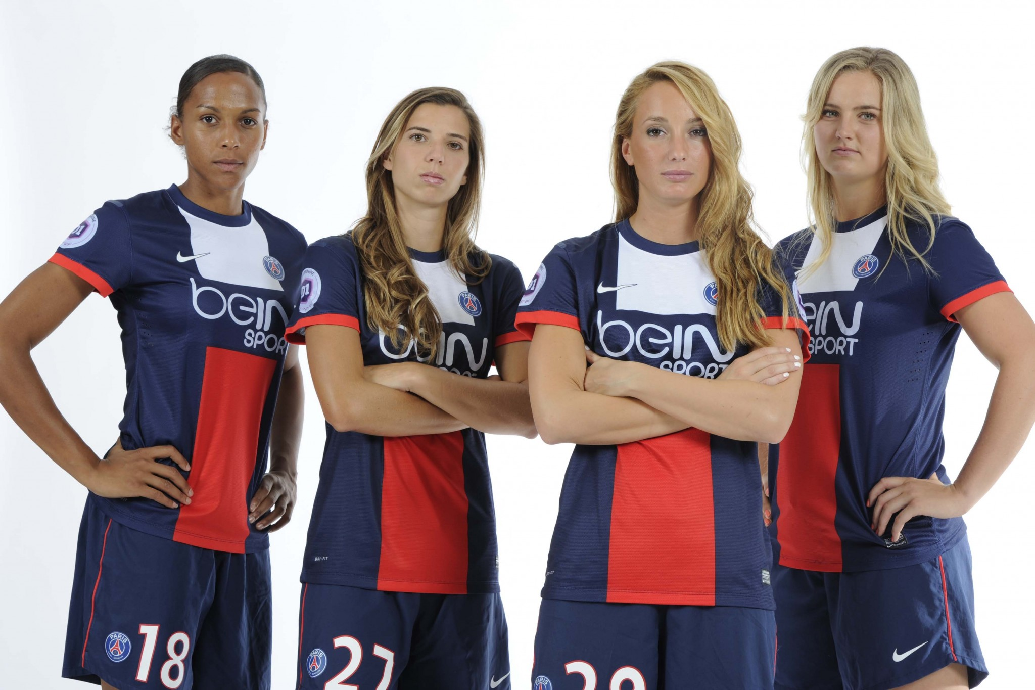 Studio PSG Féminines (Paris, FRANCE, 2013) Copyright ALAIN GADOFFRE